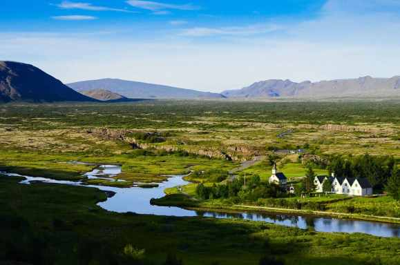 The golden circle - Thingvellir national park - friend in iceland