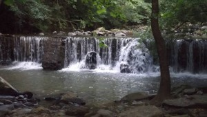 Waterfall Outside Site