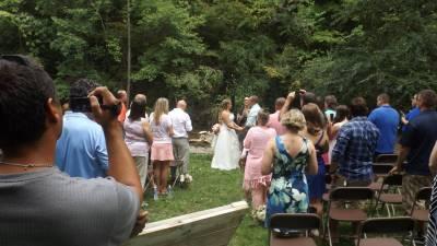 Wedding on River