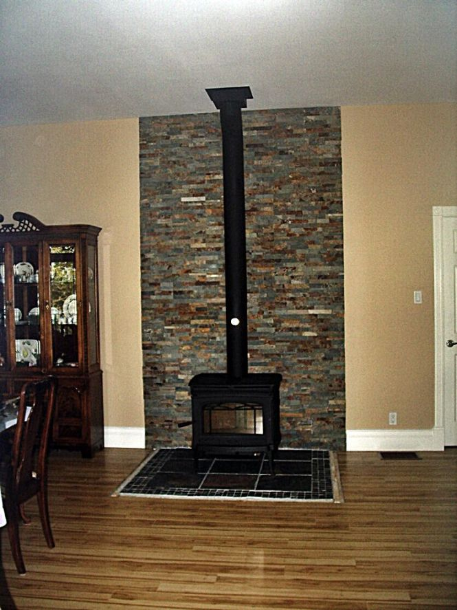 I Wanted The Wood Stove To Have