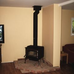 EnerZone 1.8 Small Wood Stove by Friendly Fires.ca