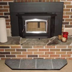wood fireplace insert
