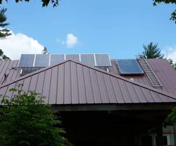 Solar Array & Water Panel