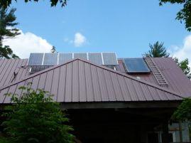 Solar Array & Water Panel