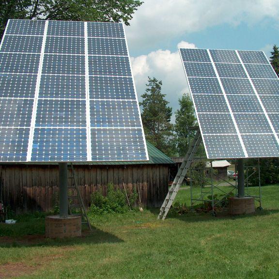 Solar Post 3