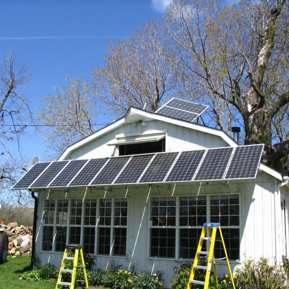 Solar Shed Array