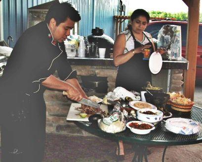 Sandra & Chef Julio discuss grilling tacos