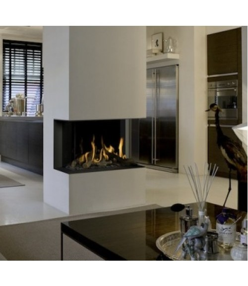 Bellfire deluxe 3 sided corner and see through for 3 sided fireplaces