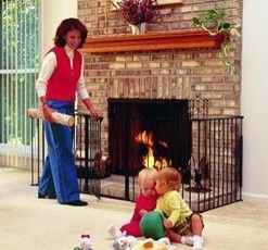 Fireplace Screens, Safety Gates & Spark Protection