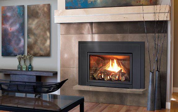 Enviro E30 Fireplace Insert Tile Log Burner