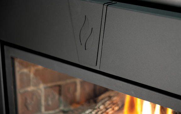 Enviro E30 Gas Fireplace Insert Keystone Surround