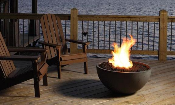 Marquis Bola Friendly Fires Outdoor Fire Bowl Propane