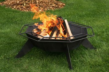 Durable Wood Fire Pit
