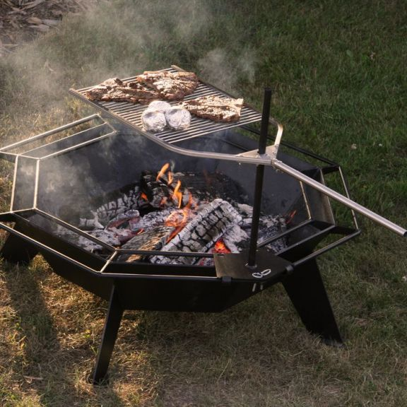 Iron Embers BBQ Attachment