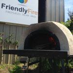 Outdoor Wood Oven Pizza