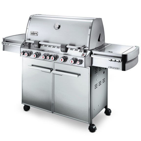 7370001ZR11 2011 Weber Summit S670 Gas Grill LP Stainless Steel Product