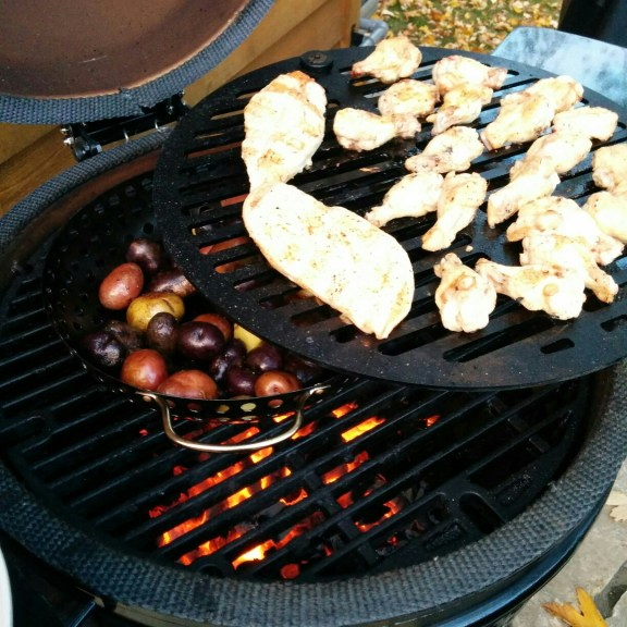 Black Olive Swing Out Grill BBQ Food