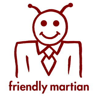 Friendly Martian logo