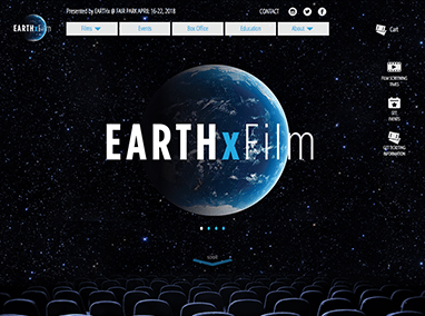 EarthxFilm: website project management and content updates