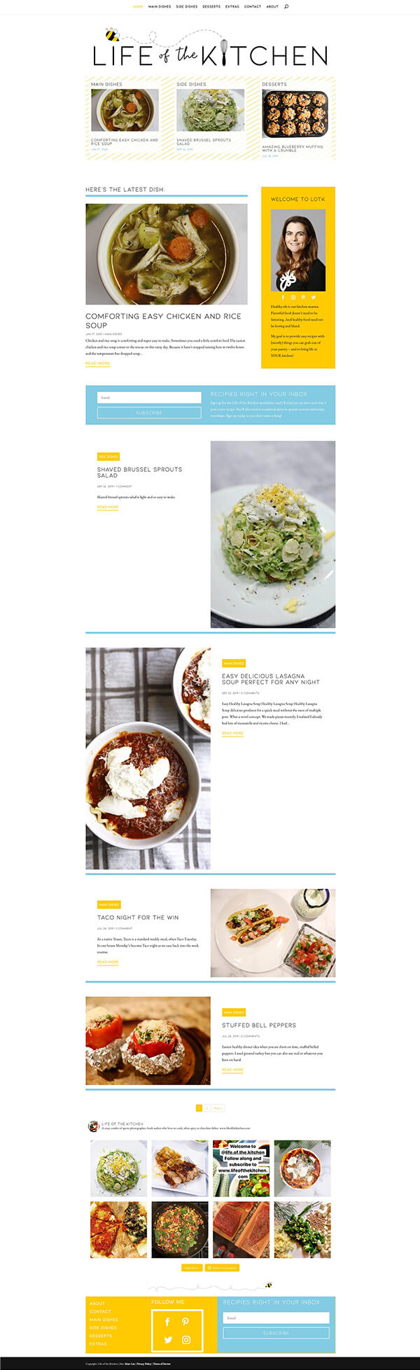 Life of the Kitchen website