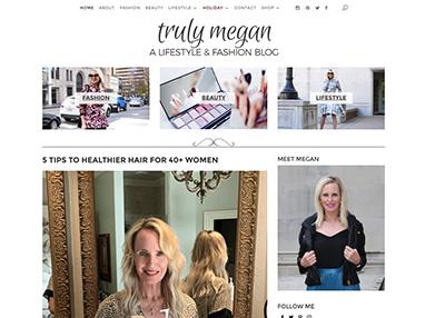 trulymegan.com website image