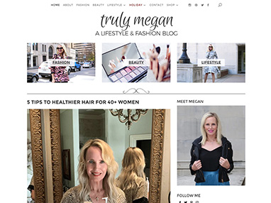 trulymegan.com website image