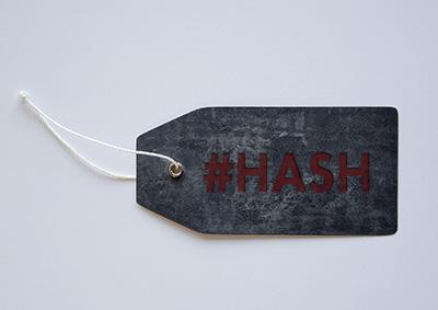 A hash tag