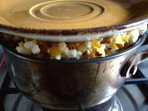 Popping Popcorn :-)