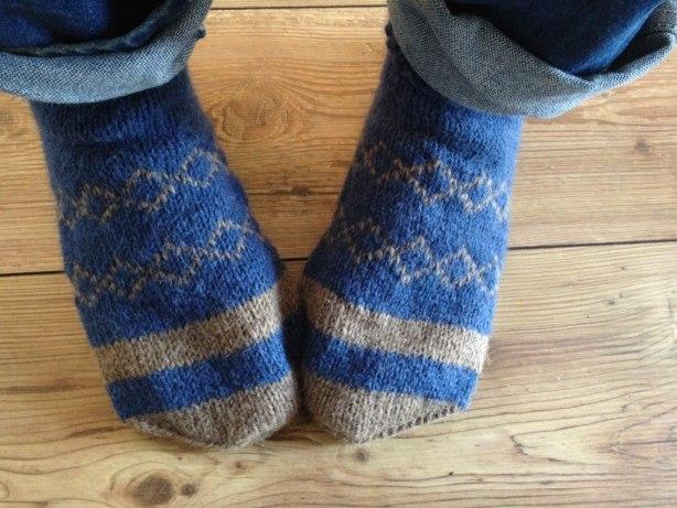knitting socks basics