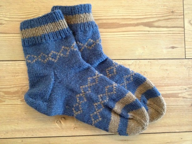 Knitting socks basics