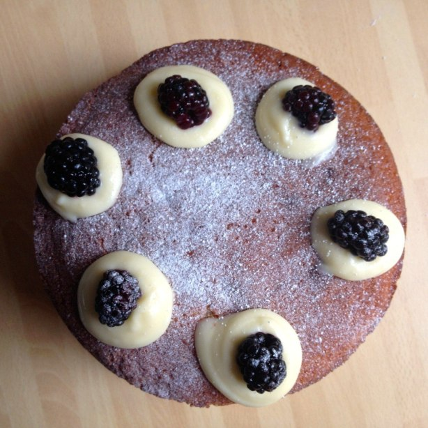 almond Victoria sponge cake recipe