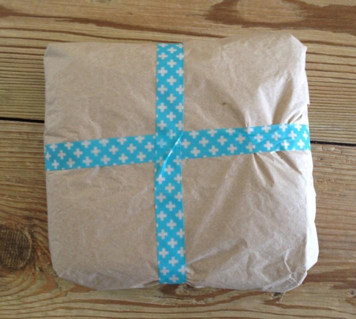 washi tape gift card