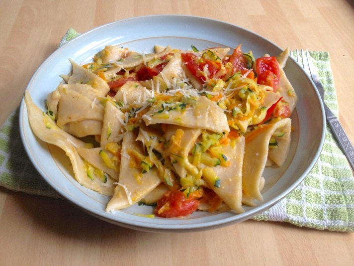 Quick and easy Lithuanian Pasta (skryliai)
