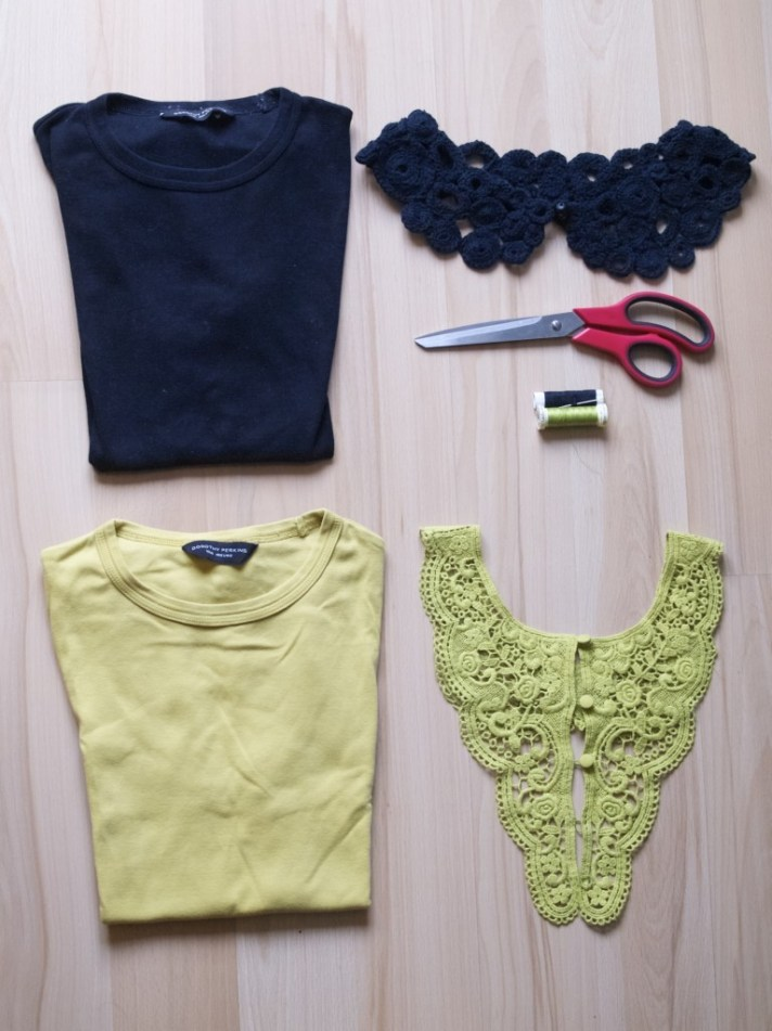 Things you will need to make a lace insert