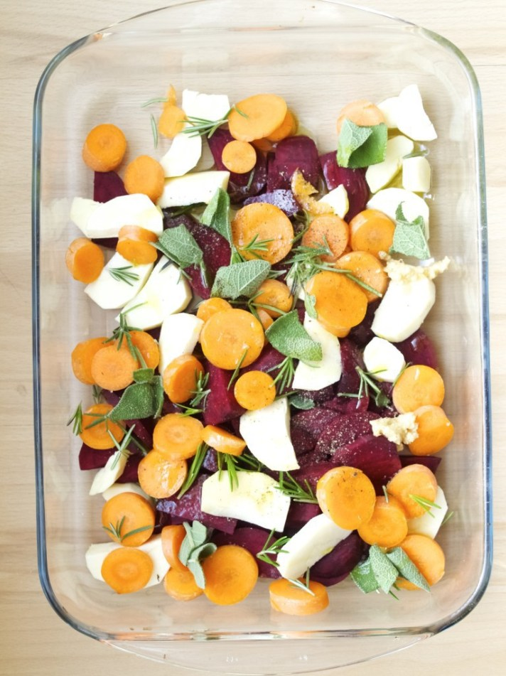 Autumn vegetable risotto recipe