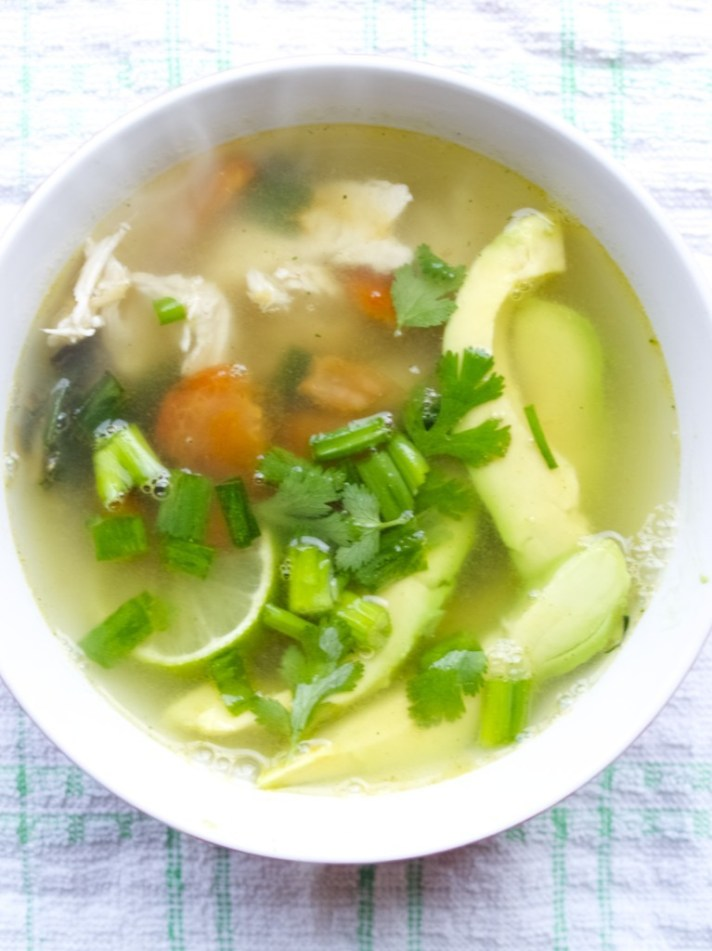 Chicken Avocado Soup recipe