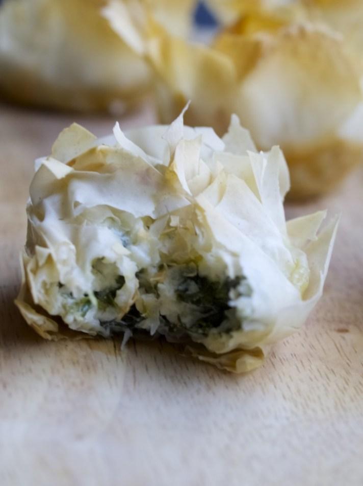 Spanakopita tarts recipe