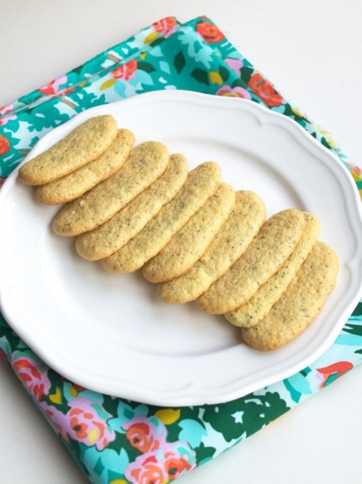 Poppyseed lady finger recipe