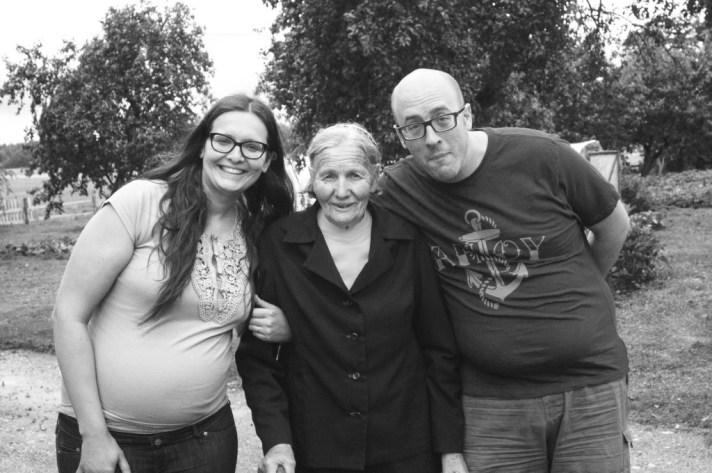 At my grannies