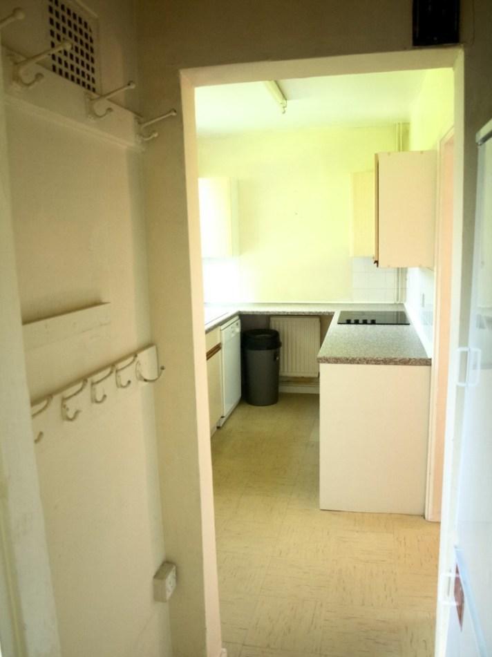Our new house tour: tiny kitchen