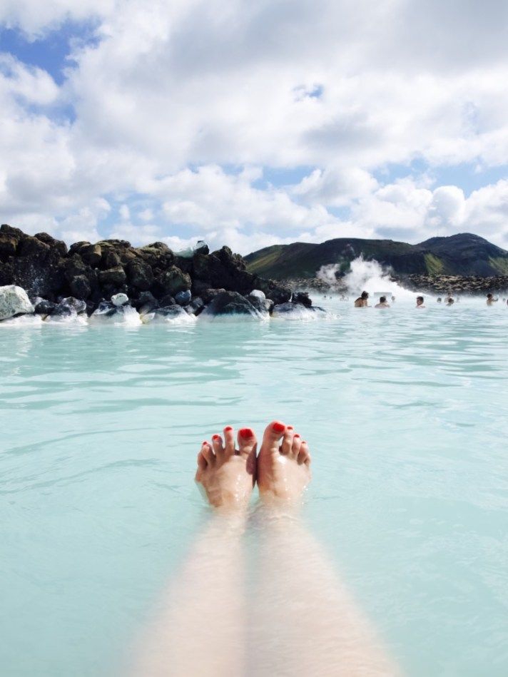 Me and Blue Lagoon