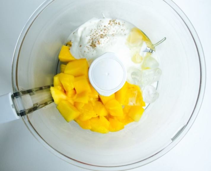 Ice cream for breakfast! Click here for mango lassi ice lolly recipe ;-)