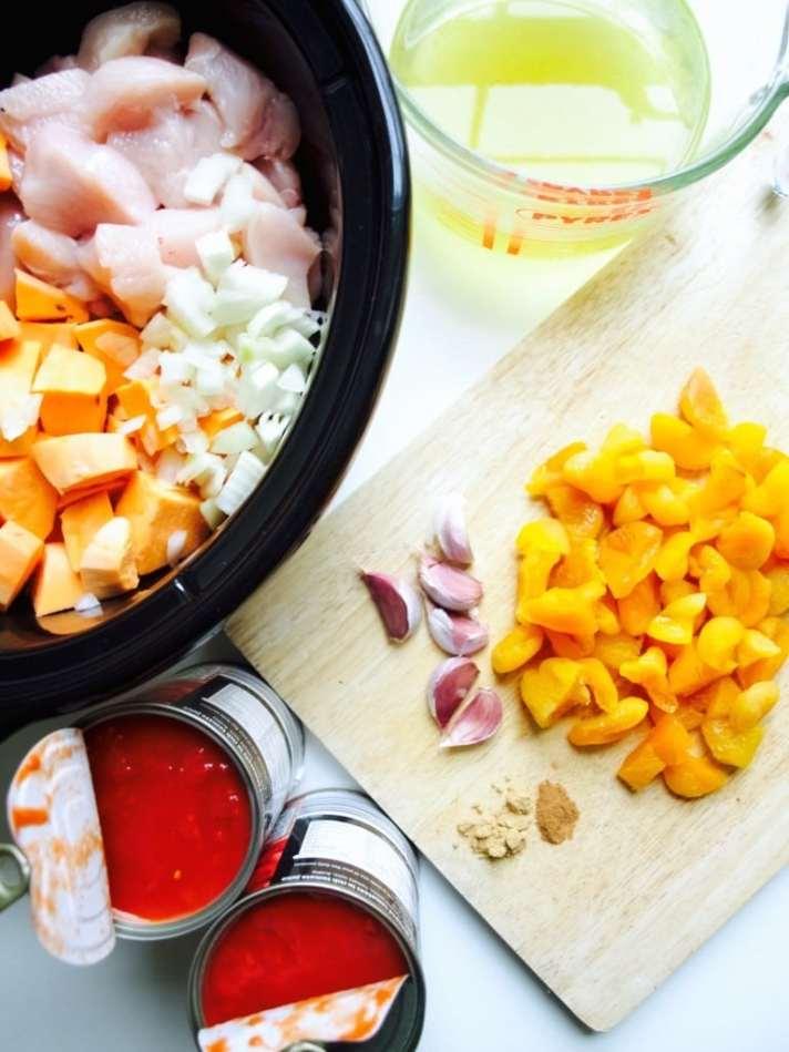 Easy slow cooker moroccan chicken recipe