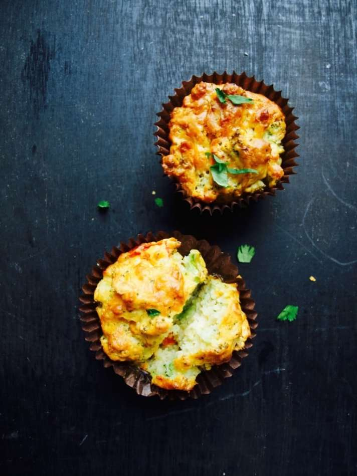 Full of veg savoury muffins recipe