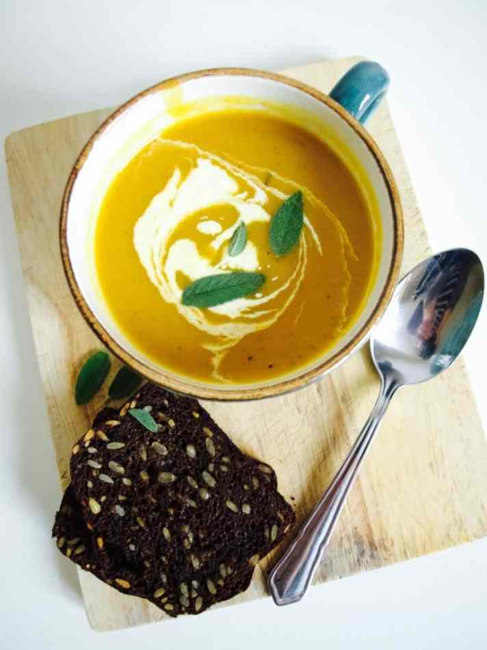 Apple and Butternut Squash soup recipe