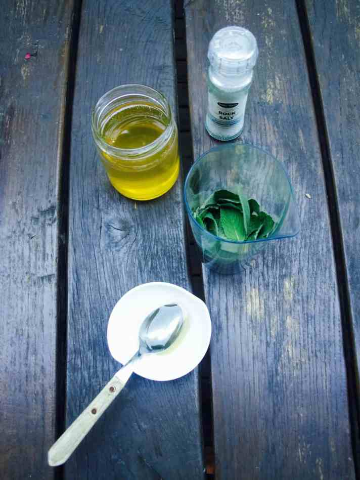 Mint sauce Lithuanian style recipe
