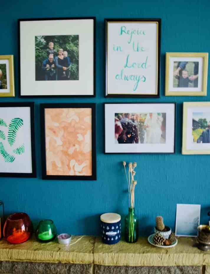 How to install a gallery wall in 5 easy steps
