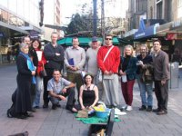 Poets in Rundle Mall, National Poetry Reading Week, September 2007