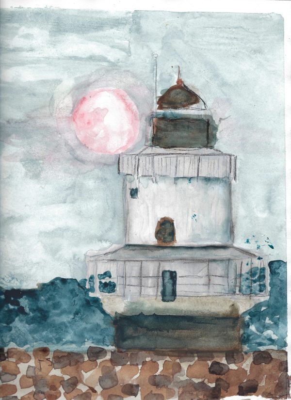 TS My Lighthouse 9×12 mixed $35 3-17