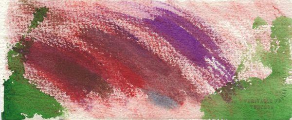AL Between Mountains 8×3.5 Watercolor $35 6-18
